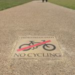 No Cycling - Regents Park London
