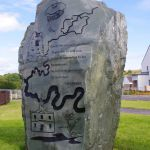 Stewarton Public Art Monolith
