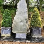Whinstone Monolith with Polished Face.