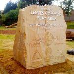 Community Project marker stone