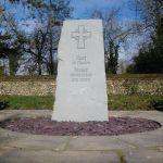 Christian memorial monolith
