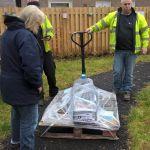 Lennoxtown Stone Arrives on Pallet