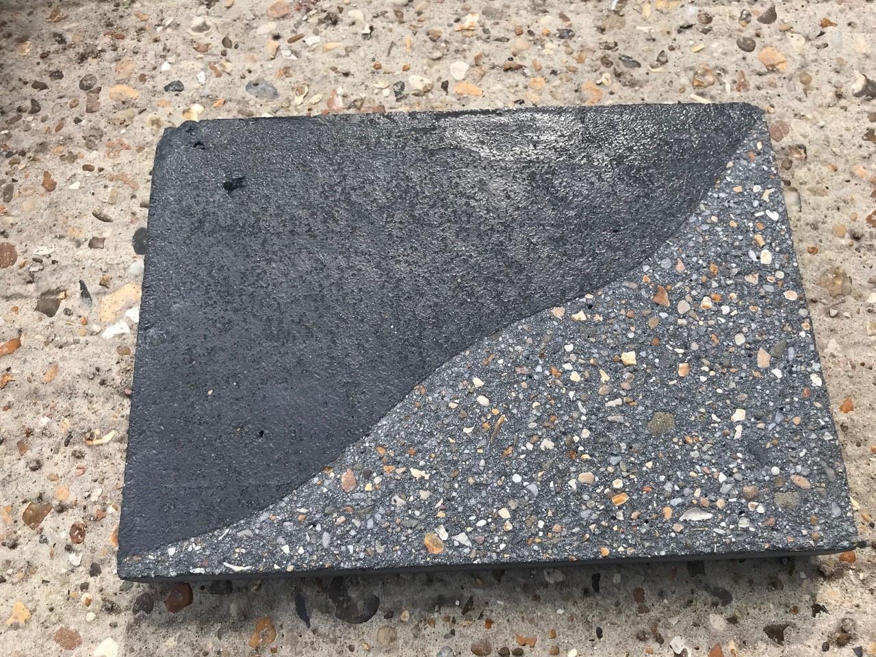 Concrete Sandblast Engraving